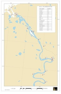 Anderson river place names map